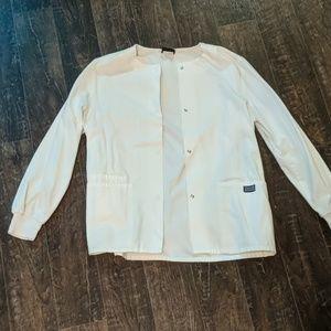 White Scrub Jacket